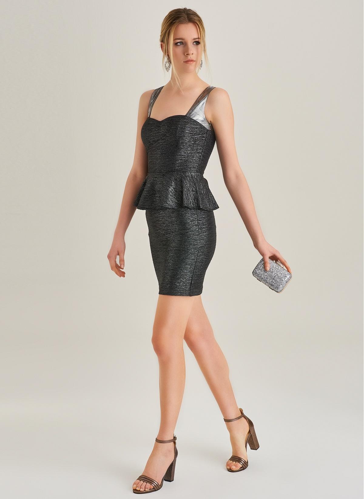 587b800cc3d58 People By Fabrika Kadın Askılı Elbise Antrasit | Morhipo | 20892080